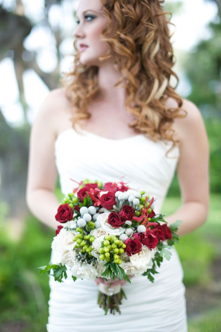 Natural Vintage Pomegranate & Lime Wedding Inspiration