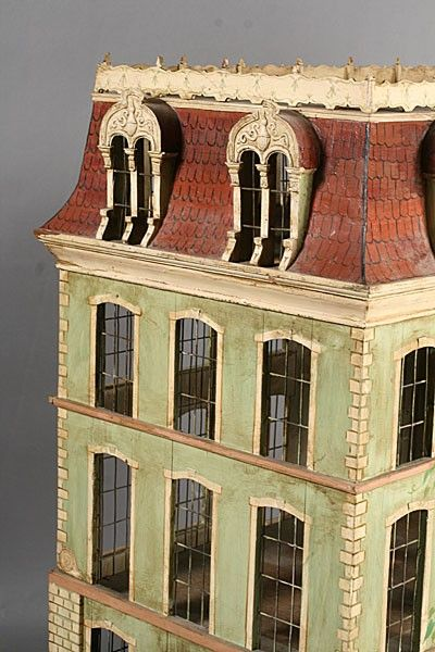 1000 images about architectural miniatures on pinterest for French mansard roof