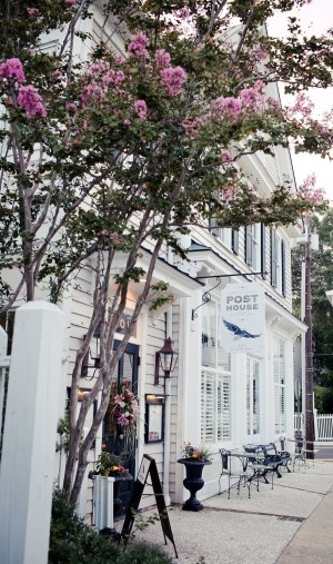 Old Village Post House in Mt. Pleasant, SC. Image courtesy of Old Village Post House.