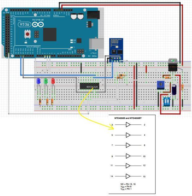 led u2019s control through esp8266 arduino web page more