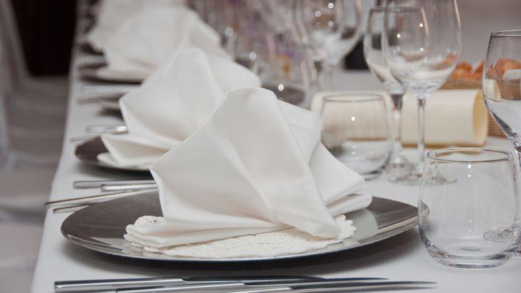 Servietten falten zur Hochzeit