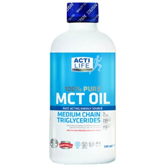 USN 100% Pure MCT Oil | EFA/Oils - The UK's Number 1 Sports Nutrition Distributor | Shop by Category – The UK's Number 1 Sports Nutrition Distributor | Tropicana Wholesale