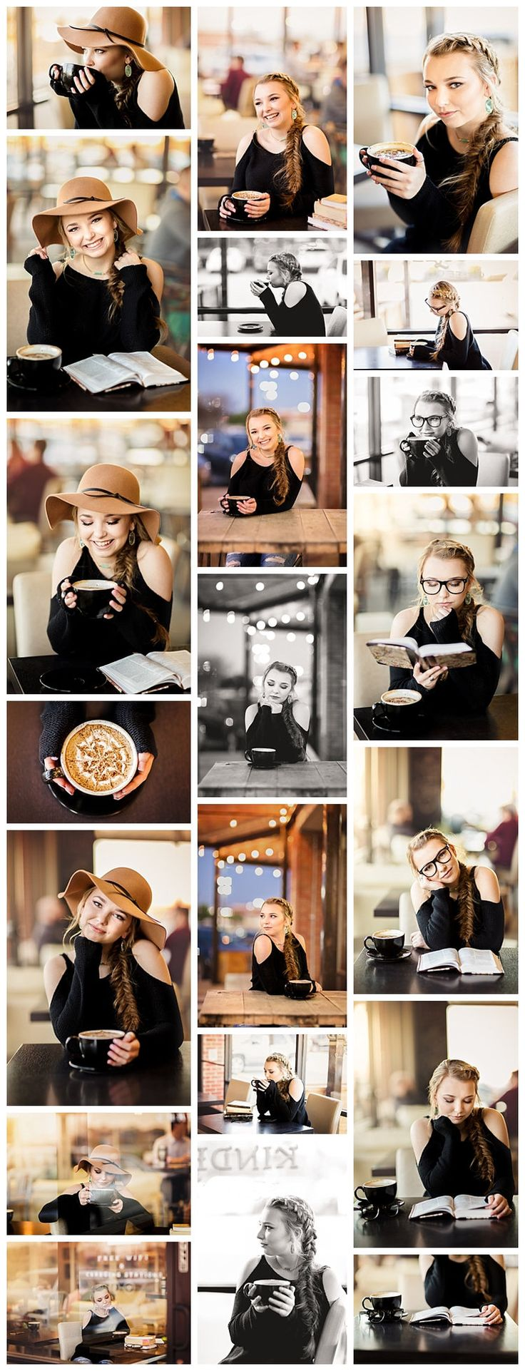 SENIOR MODEL | VR EATON HIGH SCHOOL | NEWARK, TX  Let the styled mini sessions begin! Hannah is one of my senior models on  the KSP Team '18! & I'm so excited to have her a part of it! For her styled  session, I chose a coffee house theme, because I know how much...