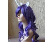 Unicorn costume wig - unicorn cosplay / horn / last unicorn costume / amalthea costume. $130.00, via Etsy.