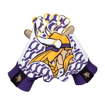 I have absolutely no use for these but it doesn't change the fact that I want em!! Nike Minnesota Vikings Stadium Gloves