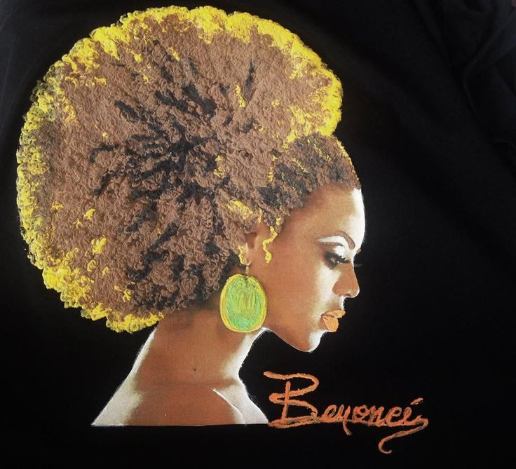Beyonce T-shirt Queen Bey T shirt Natural Hair Curly Hair until XXXL