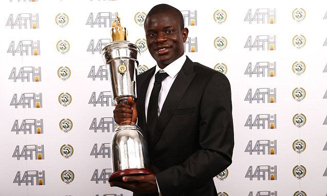 N'Golo Kante crowned PFA Player of the Year Award 2017 -   N'Golo Kante has been voted the Professional Footballers' Association player of the year.   The tireless midfielder, 26, has been central to Chelse... See more at https://www.icetrend.com/ngolo-kante-crowned-pfa-player-of-the-year-award-2017/