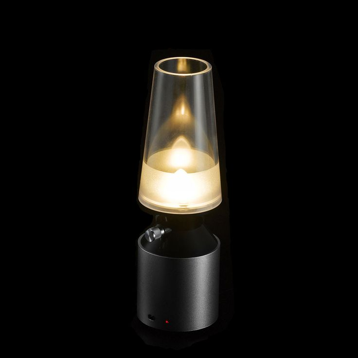 Creative Blowing Control Lamp USB Rechargeable LED Kerosene Lamp Retro&Modern Night Light Adjustable induction lamp