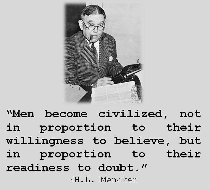 Quote By Hl Mencken: 86 Best H. L. Mencken Images On Pinterest