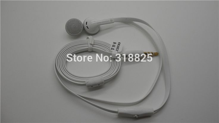 2016 new  3.5mm stereo earphone earbuds with mic For iPhone5 5S 4 4S FOR samsung htc blackberry for nokia lumia with tips #Affiliate