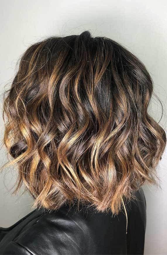 Hair Haircut Layeredhair Blondehair Haircolor Besthaircolor Short Wavy Hair Wavy Haircuts Hair Styles