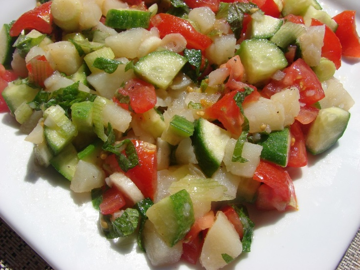 Lebanese Potato Salad: Potatoes Salad, Salad Recipes, Potato Salad, Yummy Recipes, Salad Dresses, Lebanese Potatoes, Leban Potatoes, Ethnic Recipes