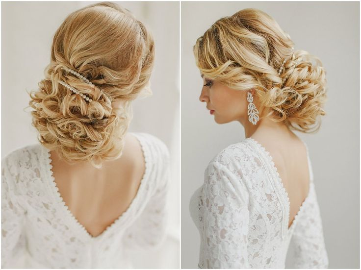 Lekre hårfrisyrer til bruden med langt hår - se bildene - BryllupsinspirasjonBryllupsinspirasjon