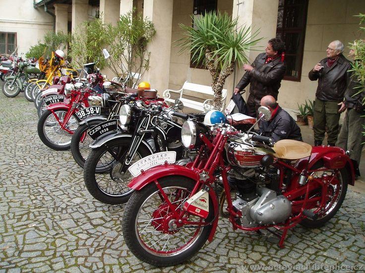 Motocykly.