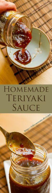 Easy Homemade Teriyaki Sauce Recipe uses ingredients I always have in my the pantry.