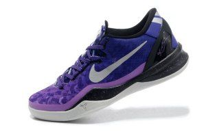 premium selection fd0eb 45d6c Mens Nike Kobe 8 System Playoff Court Purple 555035-500 Basketball Shoes