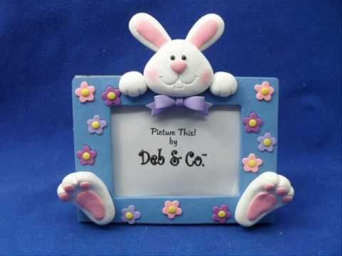 polymer clay Easter bunny bunnies rabbit
