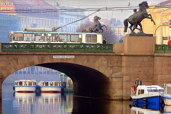 beautiful bridges of the world   anichkov bridge in st petersburg Most beautiful bridges in Saint ...