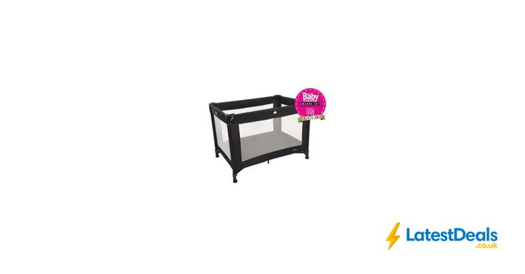 Red Kite Sleeptight Travel Cot - Black Free C&C, £18 at ASDA