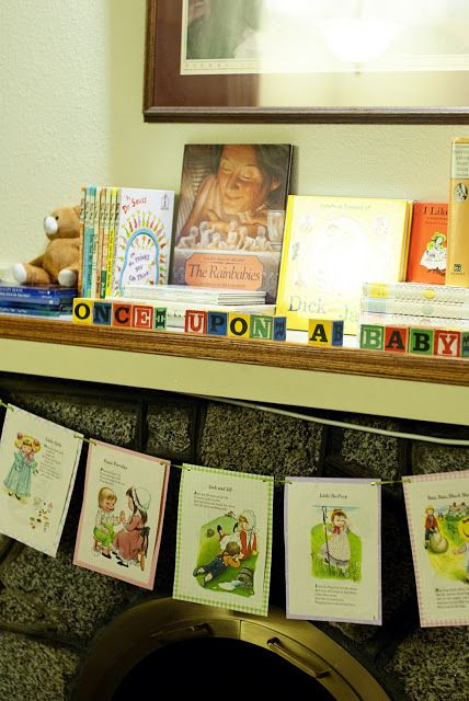 Baby Shower Storybook Theme  Make Copies Of Story Book Covers And/or Pages  To Create Banners