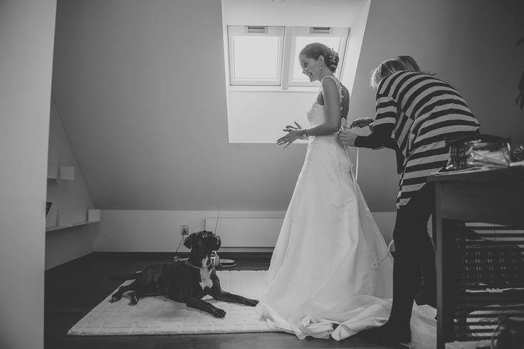 Wedding preparation.