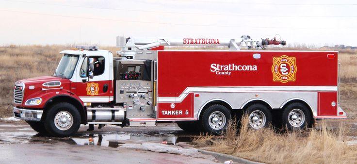 Strathcona county tanker 5 emergency trucks pinterest for Motores y vehiculos nj