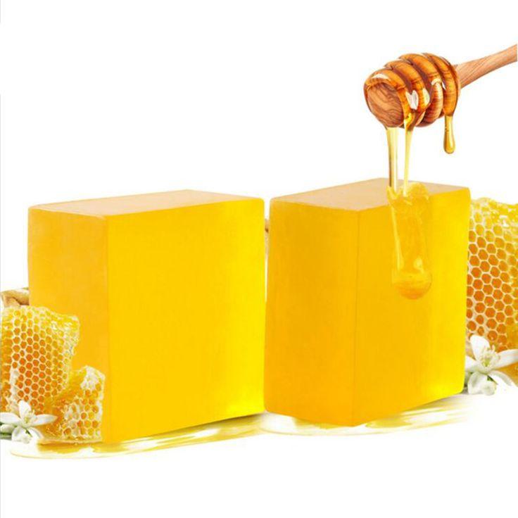 100% Hecho A Mano Peeling Blanqueamiento Glutatión Arbutina ácido Kójico Jabón de Miel 100g