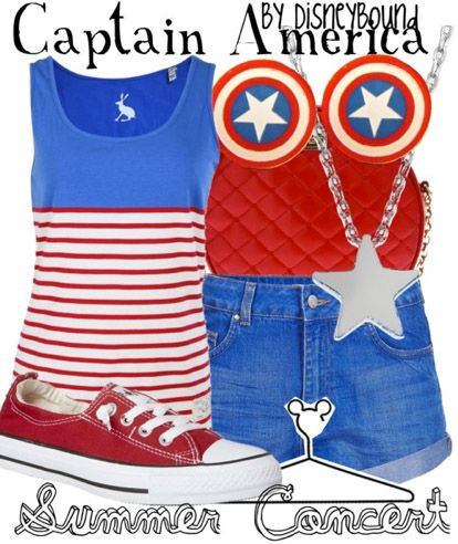 Captain America outfit