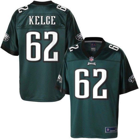 New with Tags ~ Philadelphia Eagles NFL Pro Line Jason Kelce Jersey #62 #NFLProLine #PhiladelphiaEagles #jasonkelce #superbowl