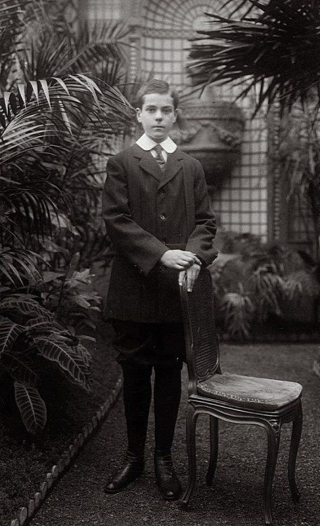 Prince Vladimir Pavlovich Paley, morganatic son of Grand Duke Pavel Alexandrovich. Though born as illegitimate, Volodya, as he was undoubtedly one of the most intelligent representatives of the young Romanov generation, as well as a talented poet....