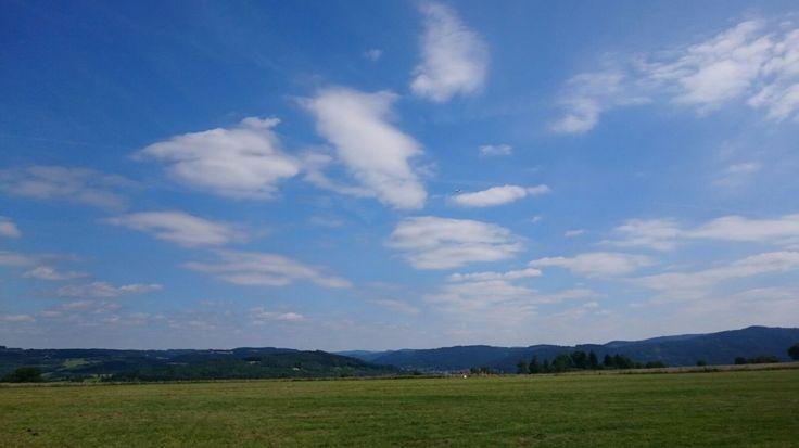 Traumhaft schönes Wetter um die Acht-Etappen-Tour im Kronacher Land zu starten