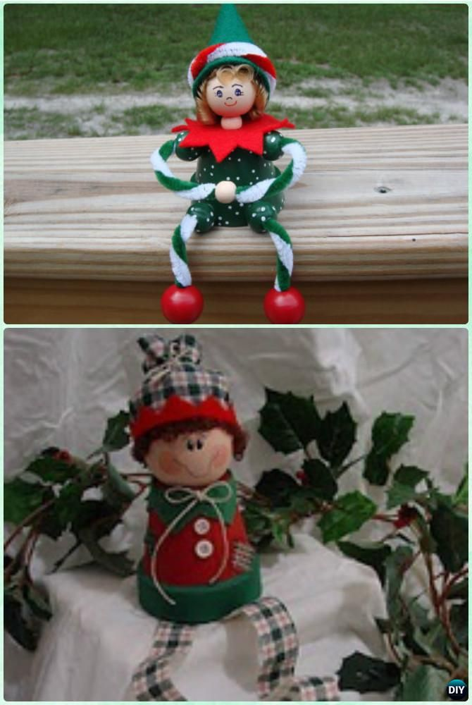 DIY Terra Cotta Clay Pot Christmas Craft Ideas For Fun Holiday Decoration