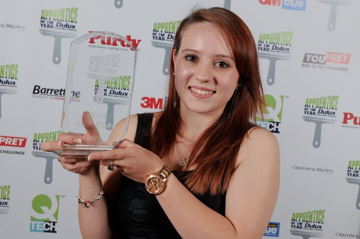 Dulux Decorator Centre Apprentice of the Year 2014 winner