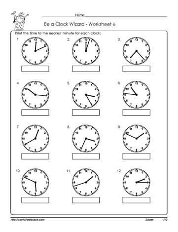 18 Best Telling Time Images On Pinterest The Hours Clock