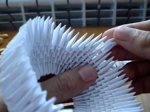 <h1>Cisne de papel plegado, origami 3D, reciclado</h1> : VCTRY's BLOG