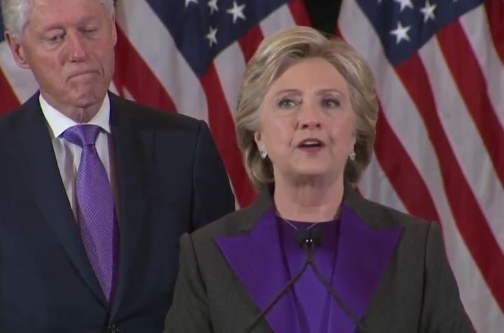 """Hillary Clinton Calls  Trump """"Our President"""" While Conceding With Class And Dignity"""