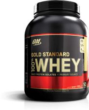 FREE SHIPPING on qualified orders! Optimum Nutrition's Gold Standard 100% Whey Protein is Packed with Whey Protein Isolates and Fast-Acting HYDROWHEY Peptides!