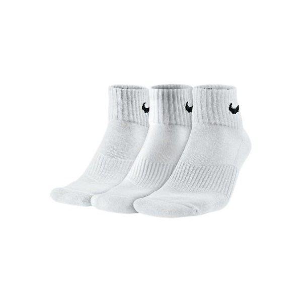Nike 3 Pair Cushion Quarter Mens Training Socks