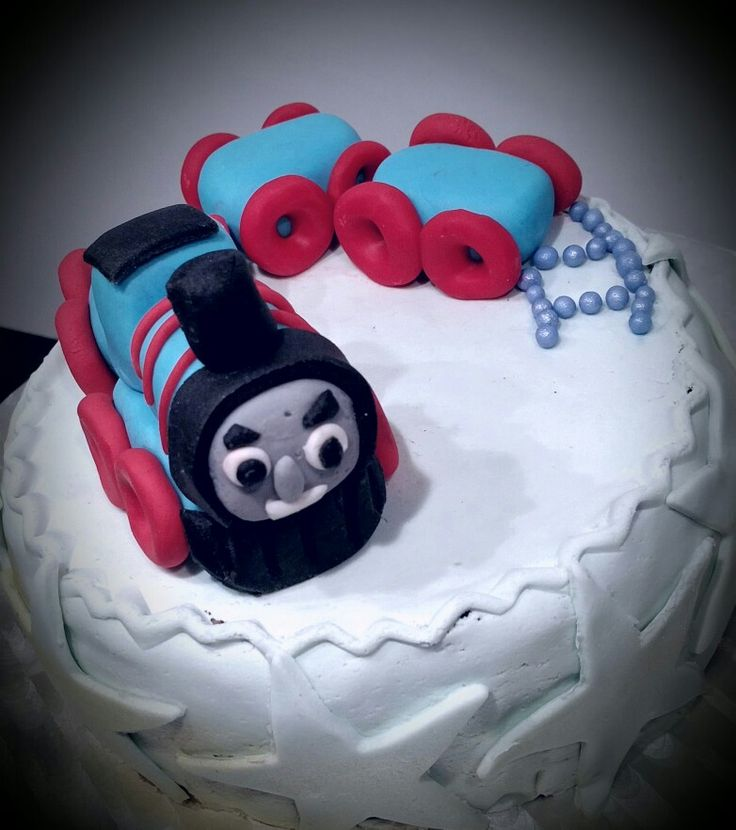 Thomas birthday cake Antoine 3a