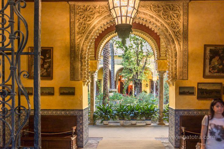 Palacio de las Duenas Wohnhaus Sevilla Museum