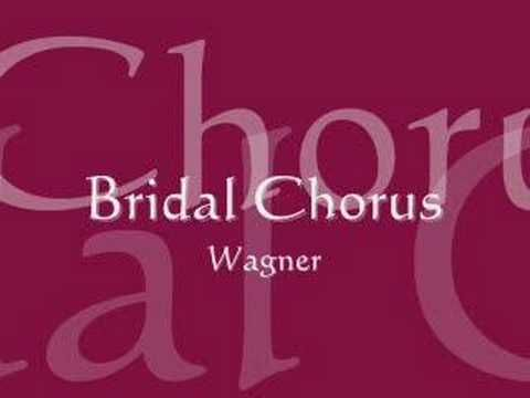 "Wagner's Bridal Chorus (Pipe Organ Solo) .... also known as ""Here comes the bride""   :)))"