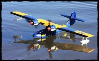 Catalina Seaplane ARTF Beilimodel