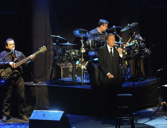 Julio Iglesias ofrece su concierto más especial en Marbella.