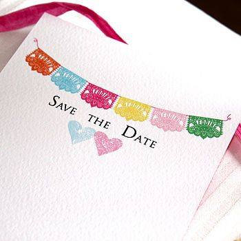 Mariachi - Save the Date Postcard so cute! Not gonna happen for us but I still like it this says Marisa :)