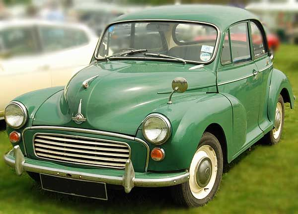 Almond greed Morris Minor 1964, the colour we always wanted but never got