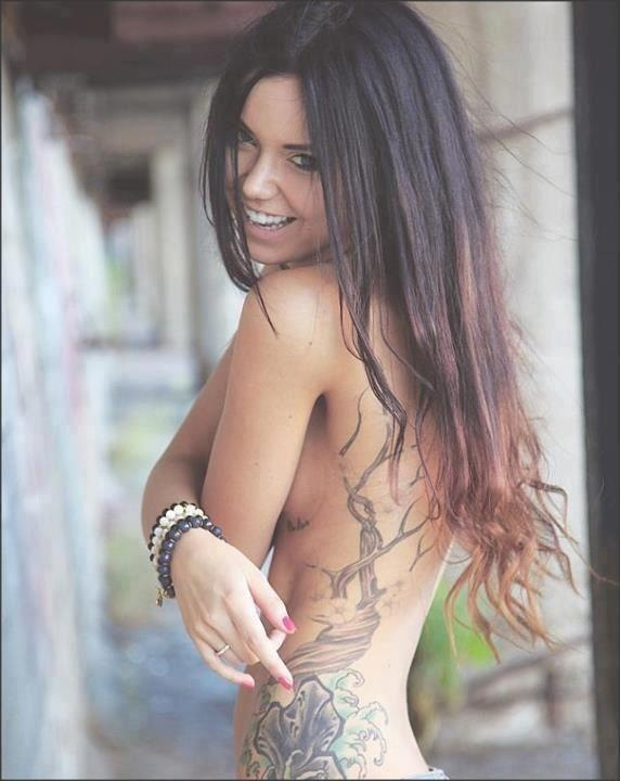 Side piece tattoos for girls nude