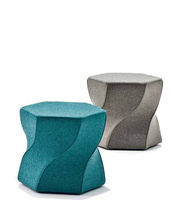Ottomans: Ottoman Twist Again by Moroso