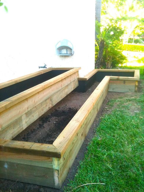 Diy Build Your Own Bi Level Planter Box For A Fraction Of The Cost Ing Pre Made Ly One At Learn How To Bui