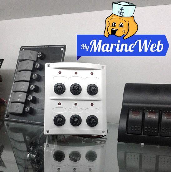 #marine #switch panels - pannelli interruttori #marini