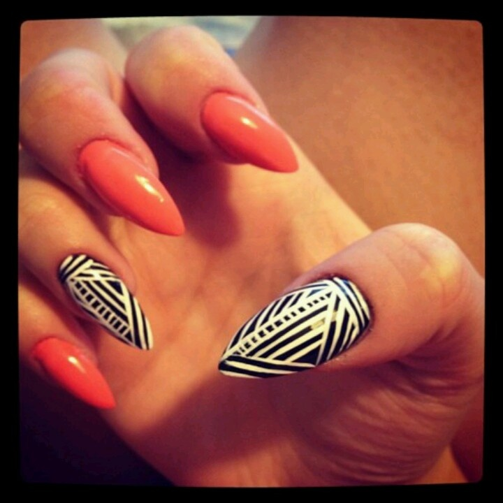 102 best nail art images on pinterest nail designs make up and i cant even get jiggy with the pointy nail thing but i love this prinsesfo Image collections